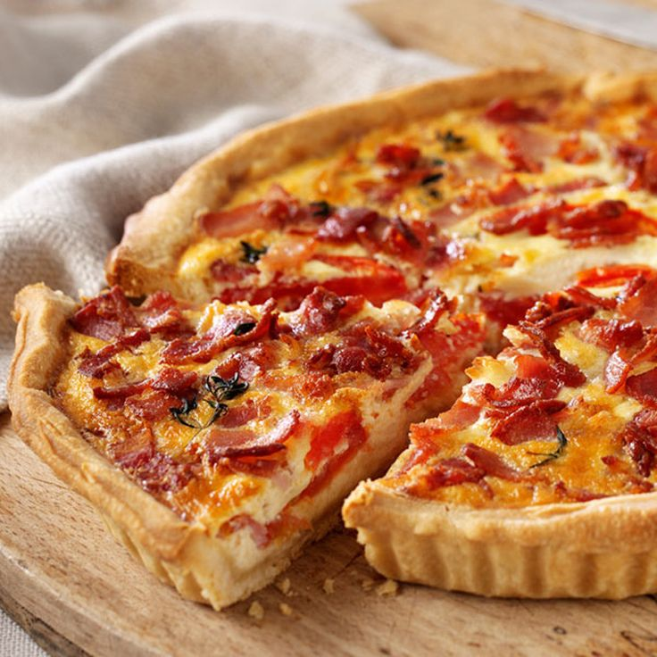 tarte tomate bacon